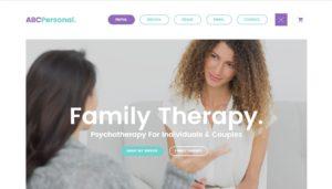 шаблон сайта для психолога